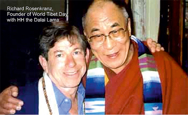 Richard Rosenkranz, Founder of World Tibet Day